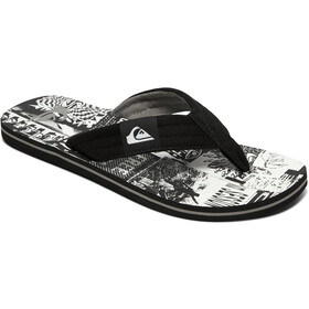 Quiksilver Molokai Layback Sandals Men black/black/white